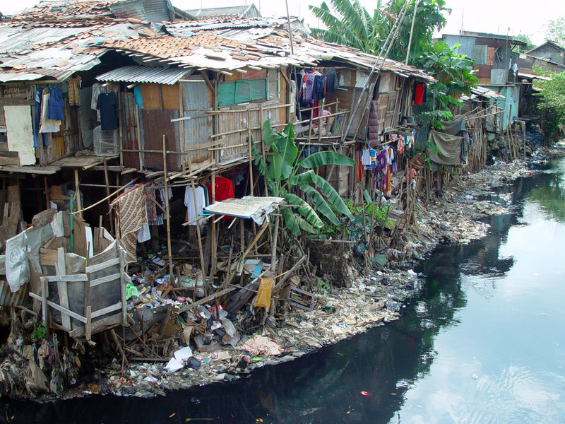 slum area development